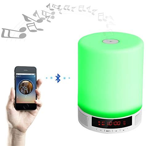 living room bluetooth speakers veesee wireless bluetooth speakers touch bedside table l children light brightness