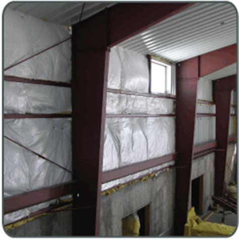 Metal Building Interior Walls by Retro Fit Insulation Pictures For Steel Building Insulation