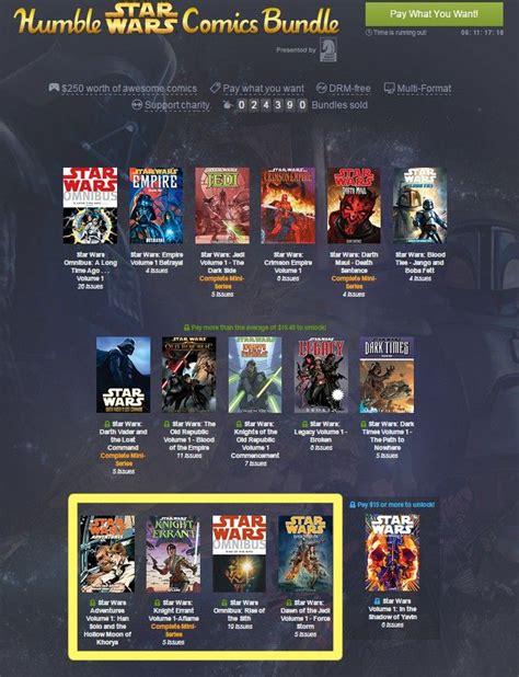 Wars Volume 1 In The Shadow Of Yavin humble wars comics bundle mit noch mehr macht