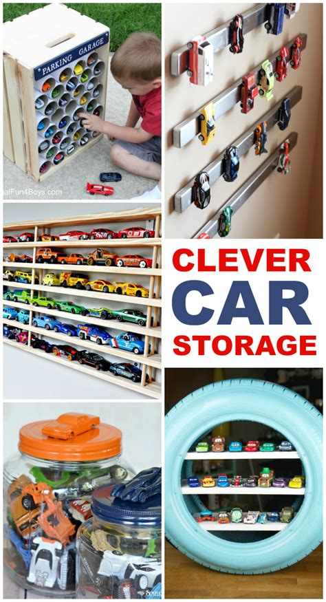clever toy car storage ideas kids activities
