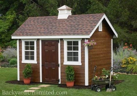Small Cupola For Shed 8 X12 Garden Shed With Siding Cupola Stain