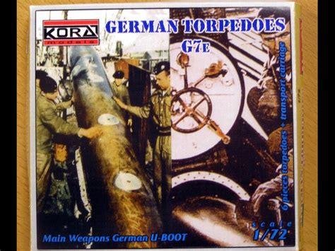 Figure One Mv047 german torpedos g7e in 1 72 scale