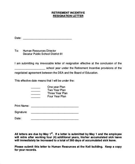 retirement resignation letters samples letter of latest including
