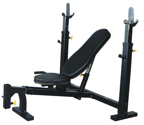 home gym bench powertec olympic bench press wb ob16 home gym weights fitness