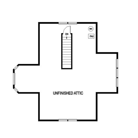 house with attic floor plan turkey mill tudor home plan 085d 0828 house plans and more