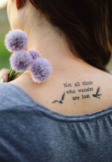 love tattoo jenison quot not all who wander are lost quot bird i m seriously in