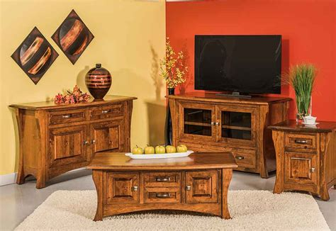 amish living room furniture amish made living room
