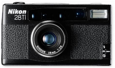 nikon 35ti & nikon 28ti quartz date (qd) compact cameras