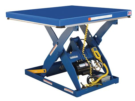 electric hydraulic scissor lift table washington equipment