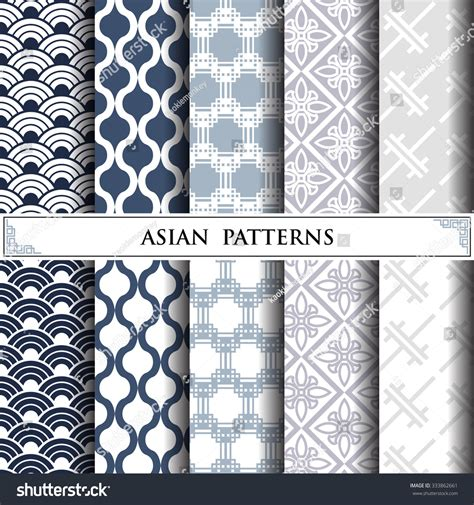 svg pattern fill url asian vector patternpattern fills web page stock vector