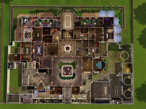 sims mansion floor plans building plans online 59335 sims mansion floor plans open courtyards building plans