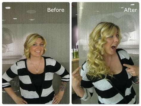 hair extensions for short hair before and after the safest and cheapest hair extension method for short