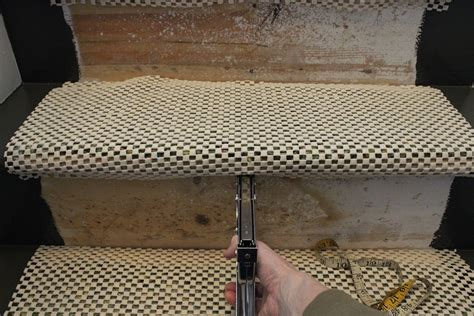 how to secure rug to carpet update your staircase how to remove and install carpet on the stairs