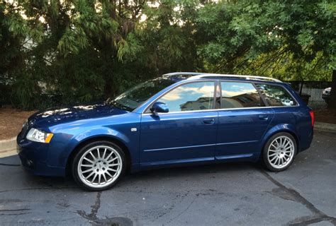 Audi A 4 2004 by 2004 Audi A4 Avant 3 0l V6 6 Speed For Sale On Bat