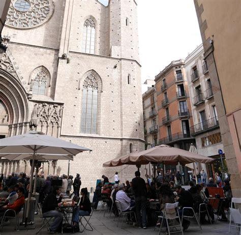 santa maria alliance barcelona el born ist das viertel der kreativen noch welt