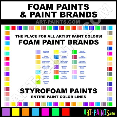 styrofoam foam paints foam paint styrofoam foam color foam brands paints