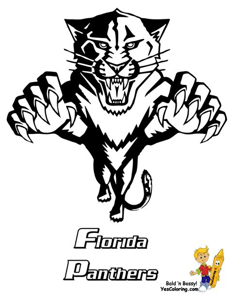 panthers color carolina panthers coloring page coloring home