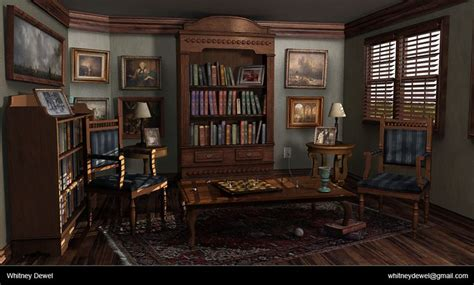 Steam Punk Home Decor Whitney Dewel Game Environment And Prop Artist Indiana