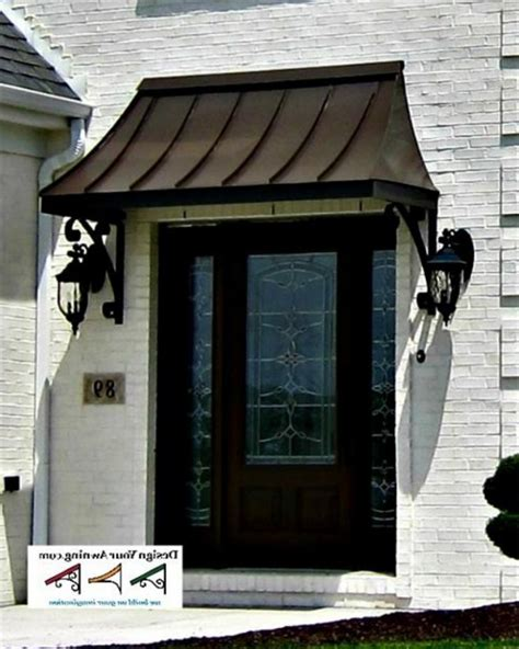 awning for doors front doors good coloring metal awnings for front door
