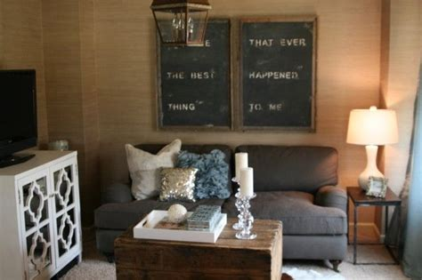 rustic glam home decor design