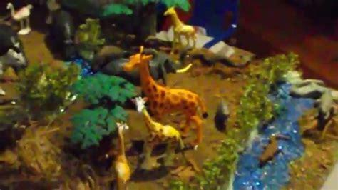 printable giraffe diorama giraffe diorama by cj haskins youtube