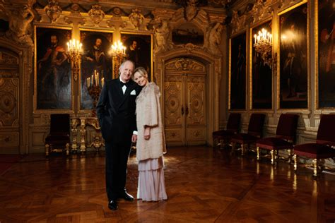 Fürst und Fürstin von Hohenzollern, BUNTE © Paul Schirnhofer   STEFF WILKENLOH * HAIR & MAKE UP