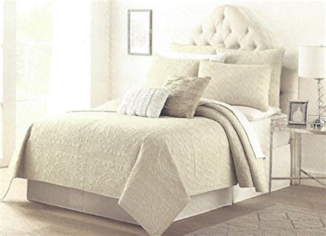 tahari home decorative pillows tahari home rome oatmeal damask pin tuck quilt sham