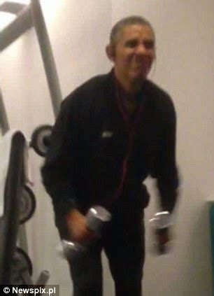 who sneaked a camera into obama's hotel gym? security
