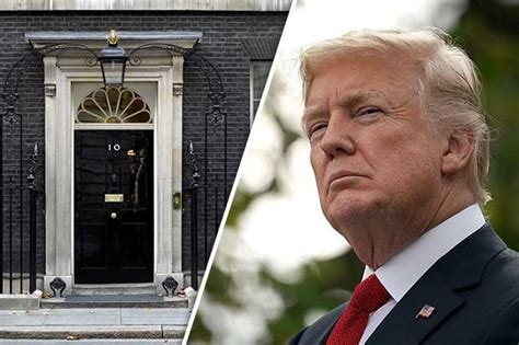 donald trump number donald trump britain first tweets downing street condemns