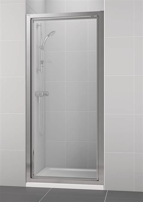 Ideal Standard New Connect 800mm Pivot Shower Door Standard Shower Doors