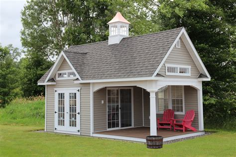 shed storage shed garden shed pool house cabin governor s series cottage pool house grand victorian