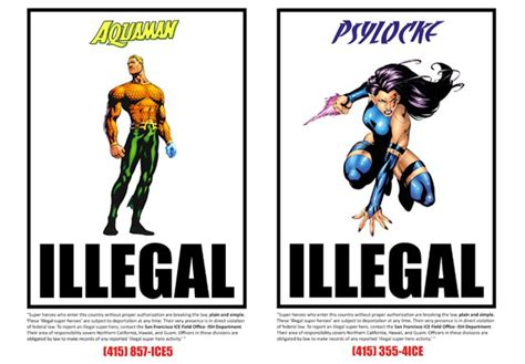 undocumented how immigration became illegal books illegal heroes comic book heroes as illegal