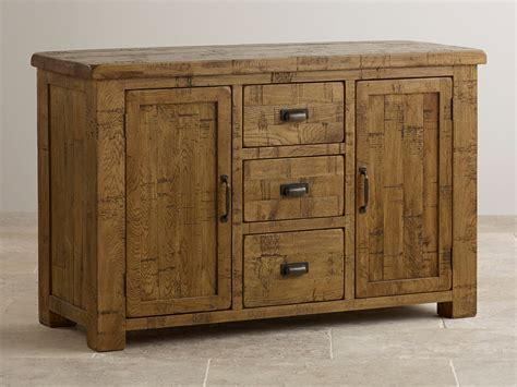 ripley rough sawn solid oak large sideboard oak furniture land