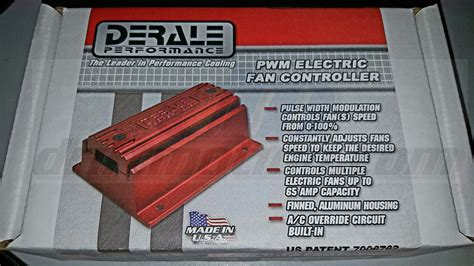 derale electric fan controller derale 16795 pwm fan controller
