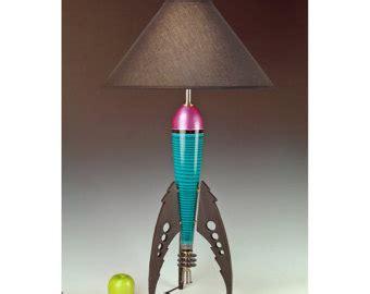 rocket ship light fixture rocket ship l etsy