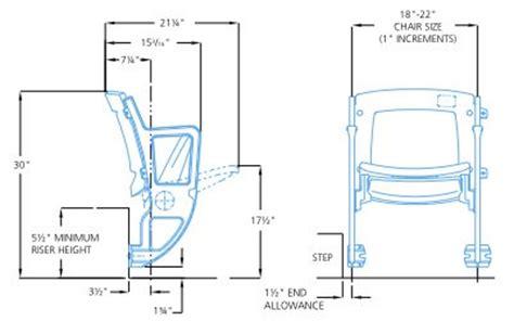 stadium bench seating dimensions stadiumseating net seating options