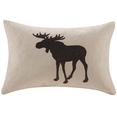 Moose Throw Pillows by Moose Silhouette Pillow Accent Pillows