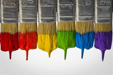 painting with brush diversity paint brushes horizontal photograph by don mcgillis