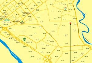 Noida India Map by Unitech Unihomes 3 Location Map Unitech Unihomes 3