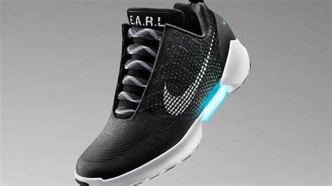 self tying sneakers nike adds self lacing shoes to sneaker arms race