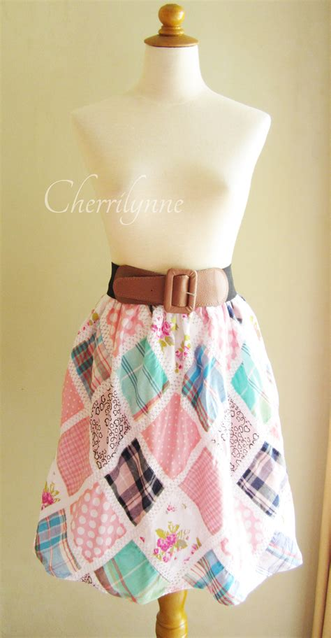 patchwork skirt top on luulla