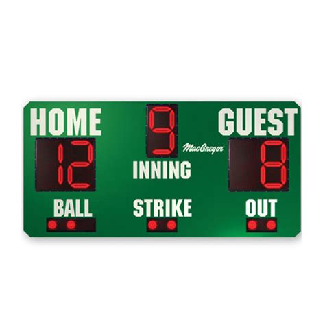 mlb scoreboard mobile baseball outdoor scoreboard electronic scoreboard