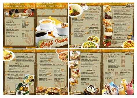 design menu book menu book design play and play and never be lame