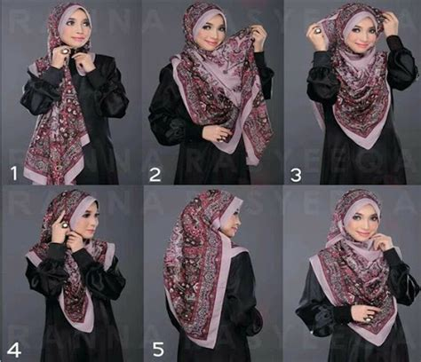 tutorial hijab syar i terbaru all review about hijab how to wear syar i khimar