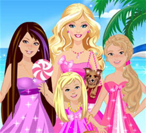 kz giydirme ve makyaj oyunu oyna barbie ve kız kardeşleri oyna