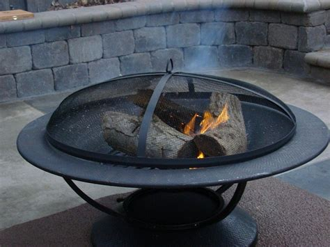 Outdoor Fit Pit Installing A Fit Wood Burning Outdoor Pit