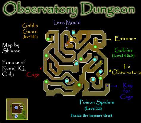 observatory dungeon map observatory dungeon map runescape guide runehq