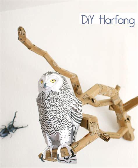 Owl Maxy By Dans paper toys everywhere la t 234 te dans les id 233 es