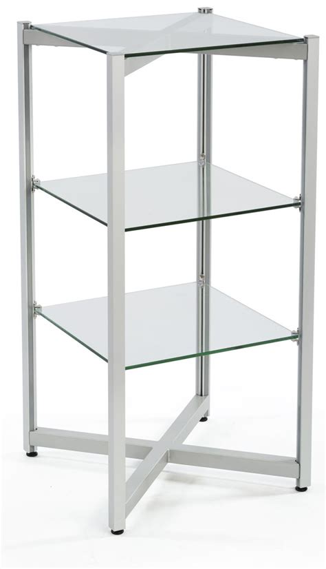 glass display shelves tiered glass shelving display 3 levels