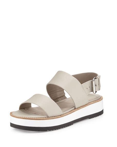 fossil sandals vince mana leather slingback sandal fossil neiman